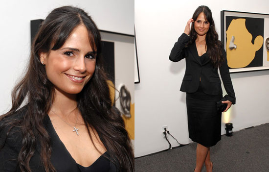 Jordana Brewster Ready to Fill Angie's Skirt Suit