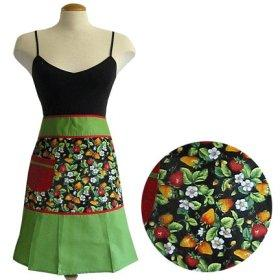 Amazon.com: Fashionista Half Apron - Berries Noir