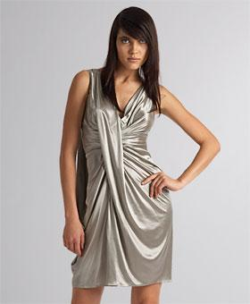 Oscars: Dior - Shiny Draping Dress - eLUXURY