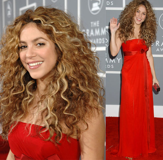 The Grammys Red Carpet: Shakira