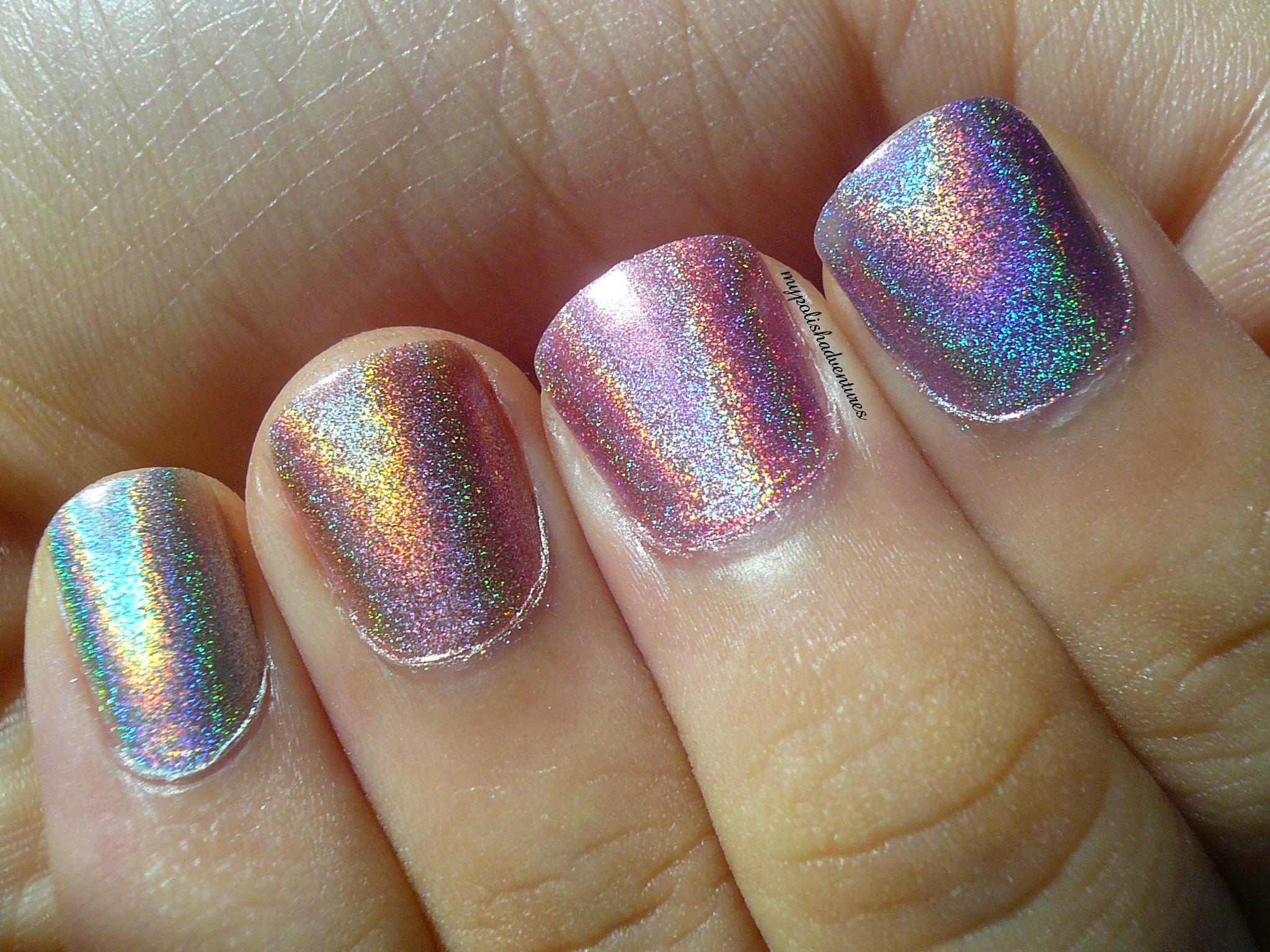 Layla Holographic Nail Polish Swatches – Nail Ftempo