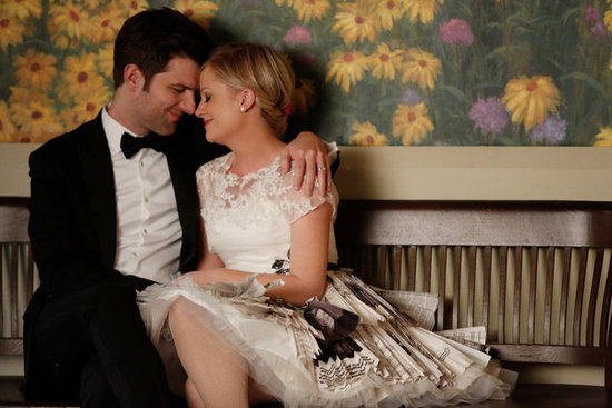Ben and Leslie get married