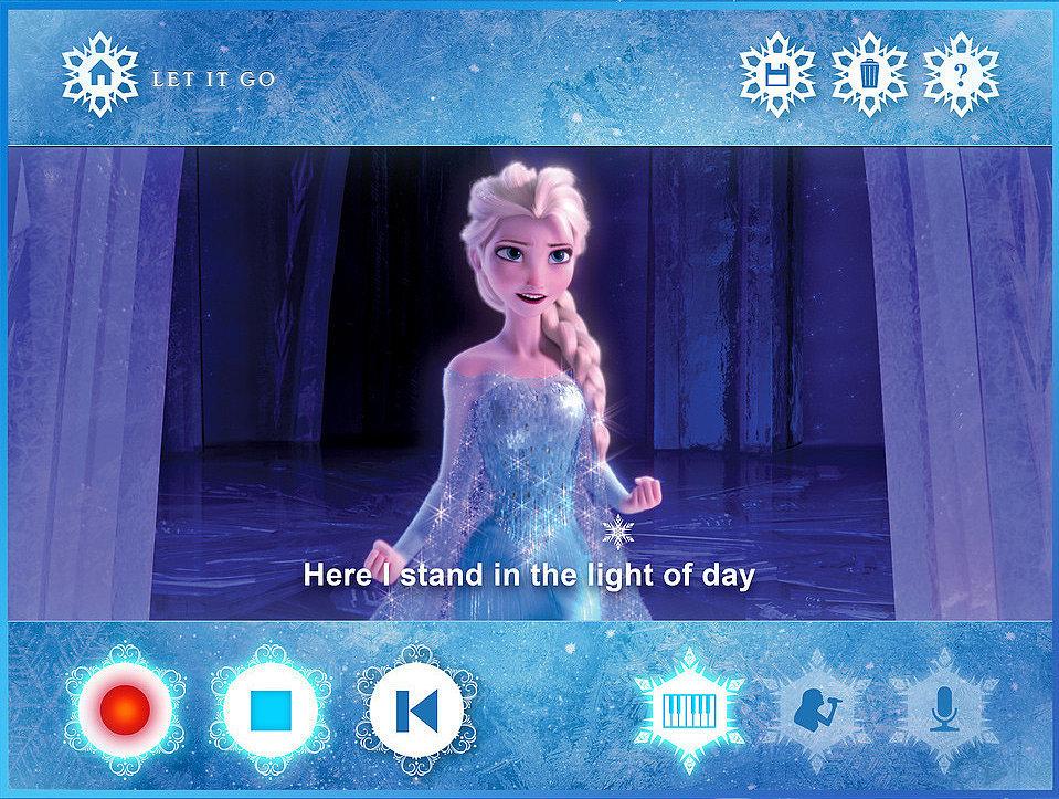 Disney Frozen Karaoke App | POPSUGAR Family